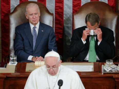 Pope Francis speech at Congress