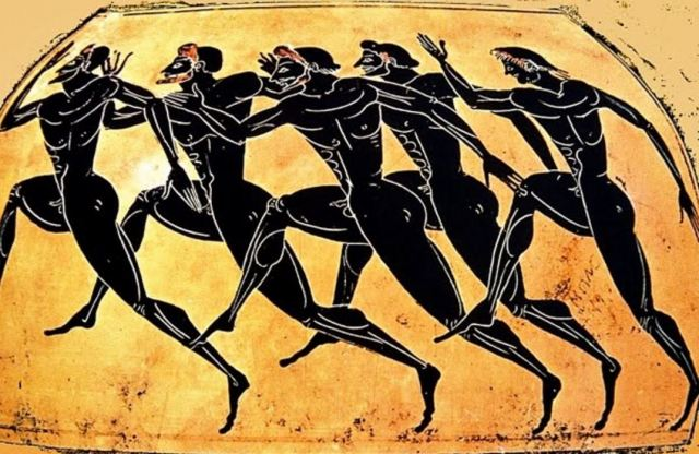 OLympics Running Race