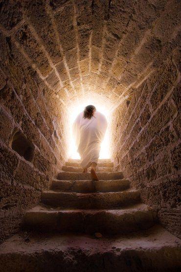 Jesus Exiting Tomb