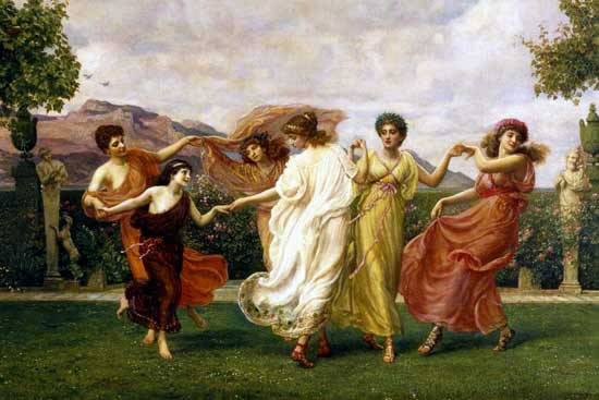 Edward_John_Poynter_-_Horae_Serenae_(detail),_1894