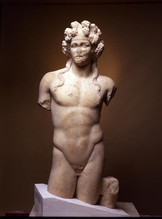 Dionysus statue in Scythopolis 2nd Century CE